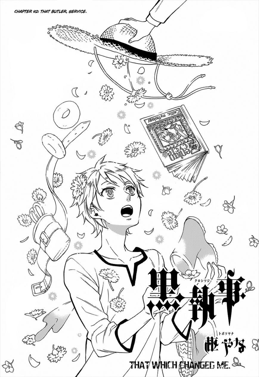 Kuroshitsuji 92 Page 1