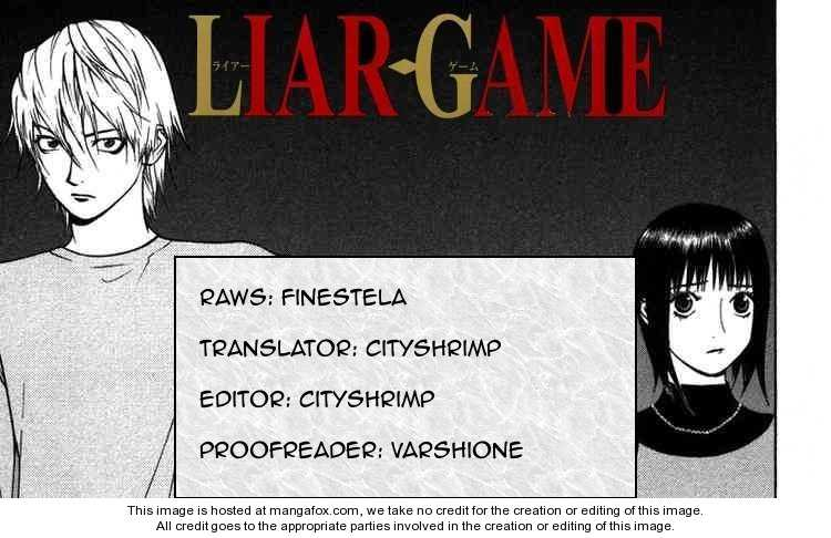 Liar Game 88 Page 1