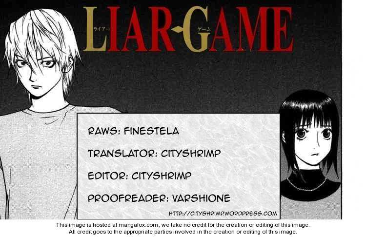 Liar Game 89 Page 1