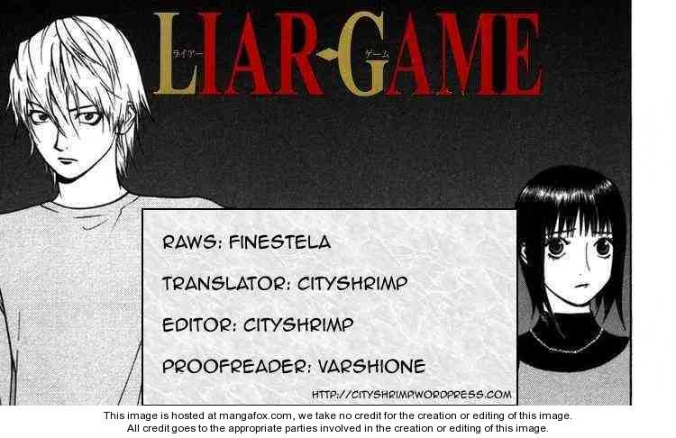 Liar Game 97 Page 1