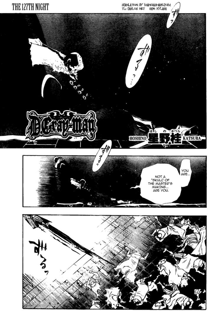 D.Gray-man 127 Page 1