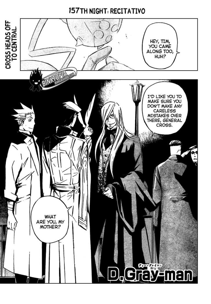 D.Gray-man 157 Page 1
