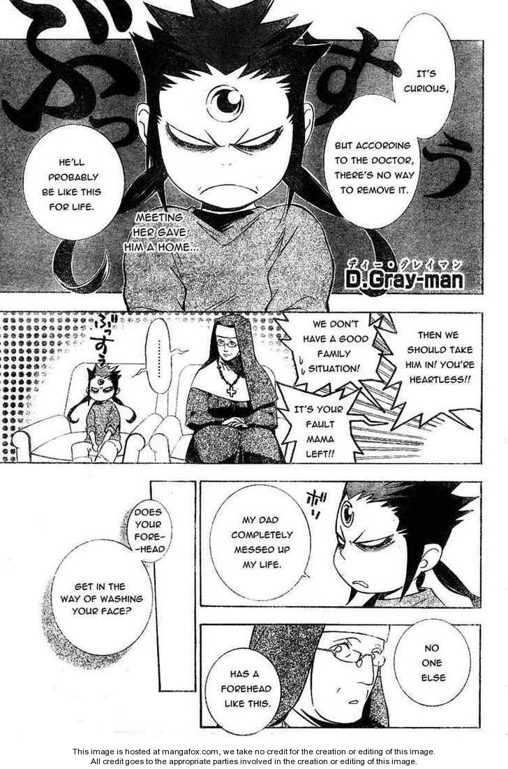 D.Gray-man 177 Page 1