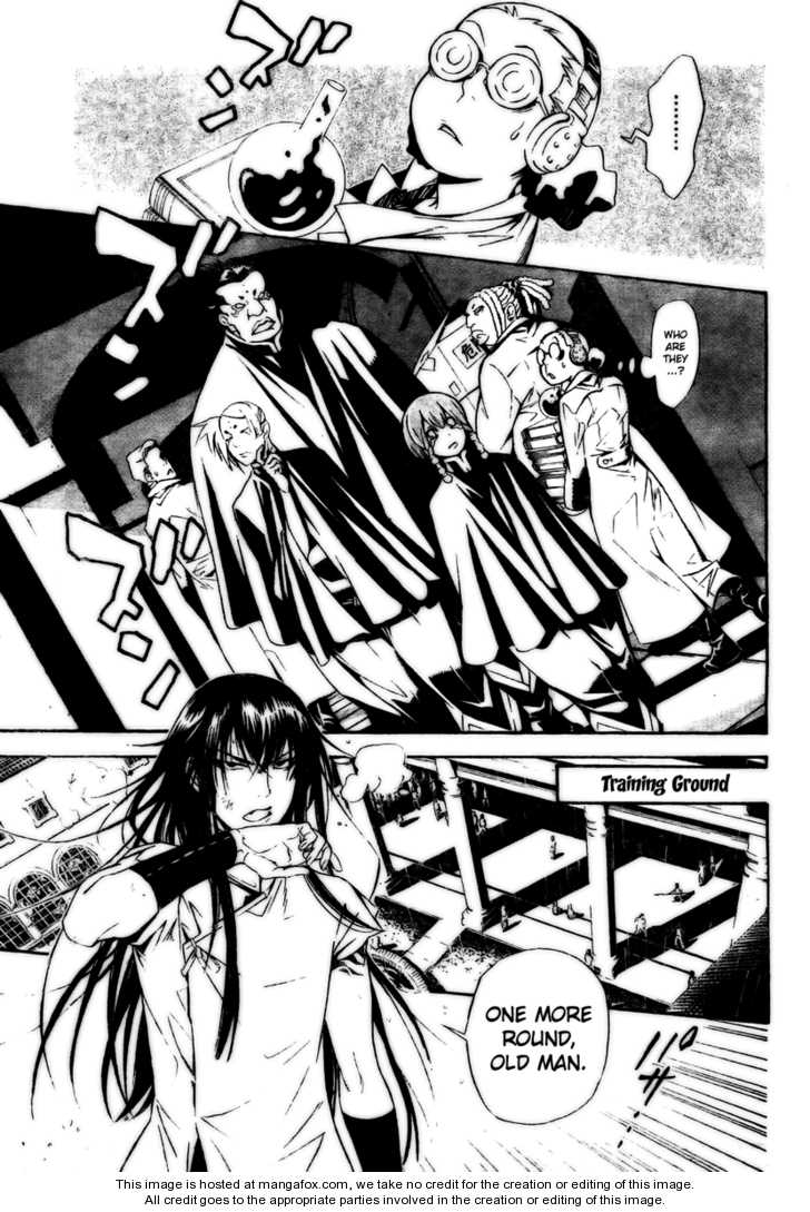 D.Gray-man 185 Page 3