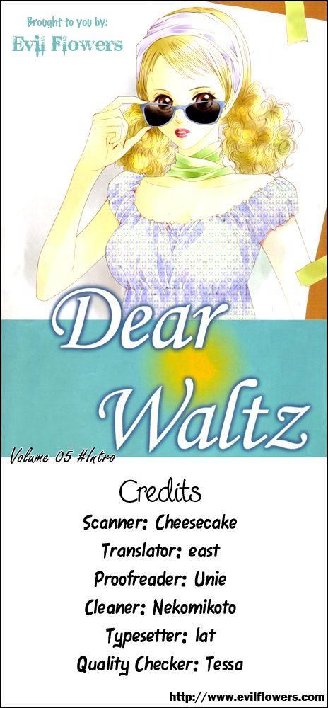 Dear Waltz 15.5 Page 1