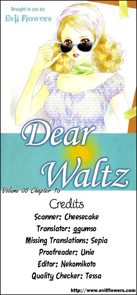 Dear Waltz 16 Page 1
