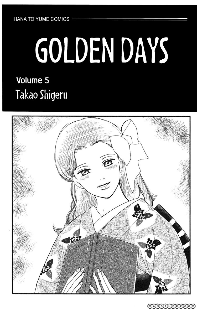 Golden Days 24 Page 1