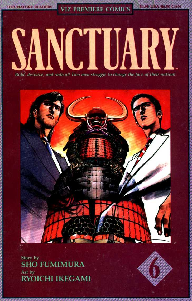 Sanctuary 16 Page 1