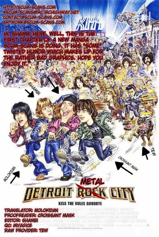 Detroit Metal City 1 Page 1