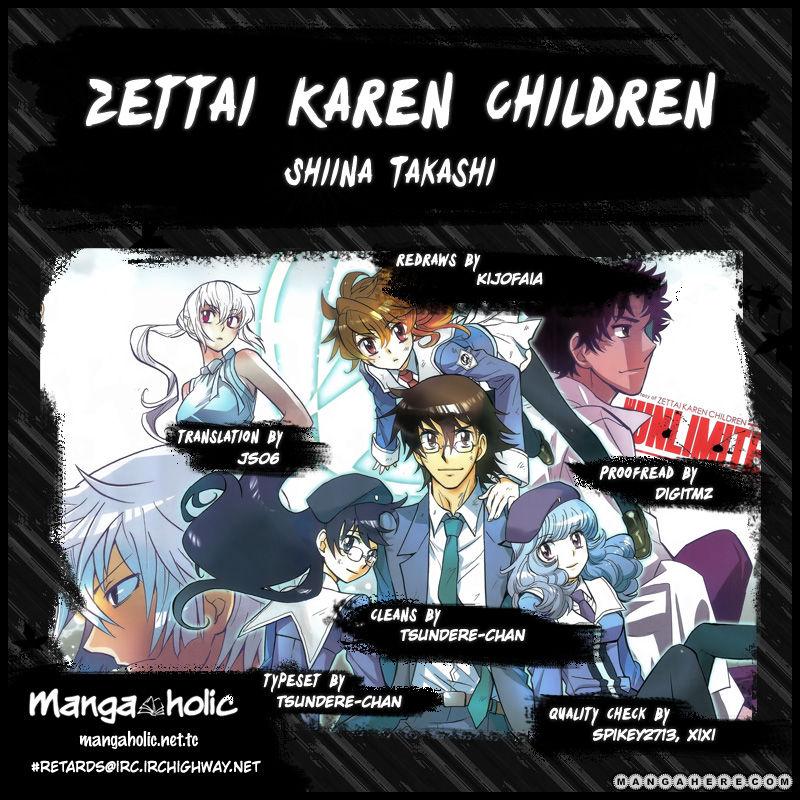 Zettai Karen Children 333 Page 1