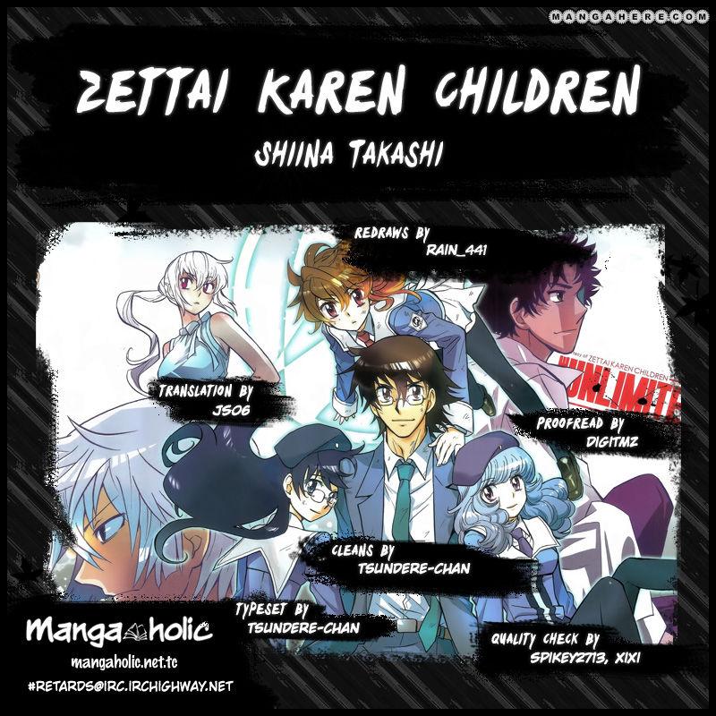 Zettai Karen Children 334 Page 1