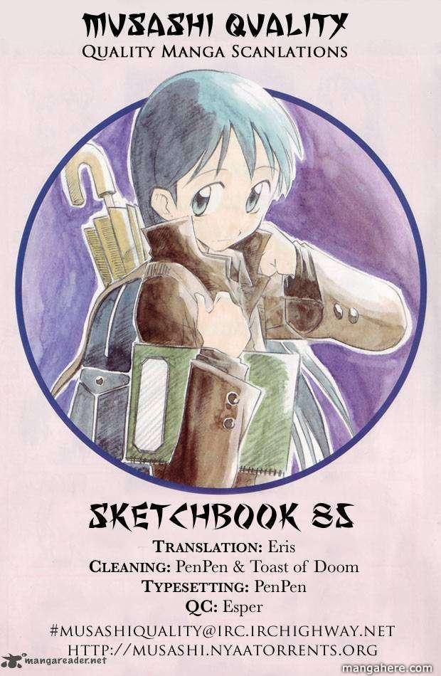 Sketchbook 85 Page 1