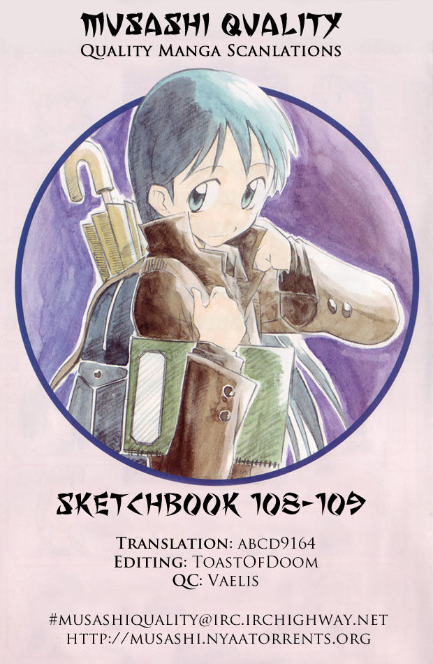 Sketchbook 109 Page 1