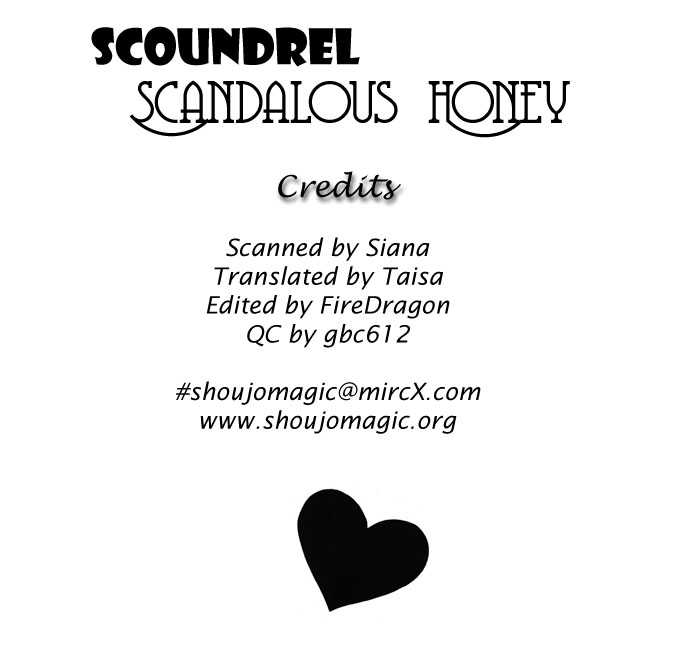 Scoundrel - Scandalous Honey 3 Page 1