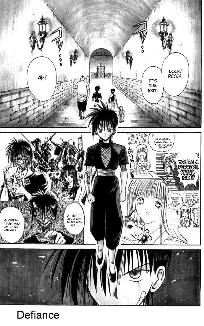 Flame of Recca 31 Page 1