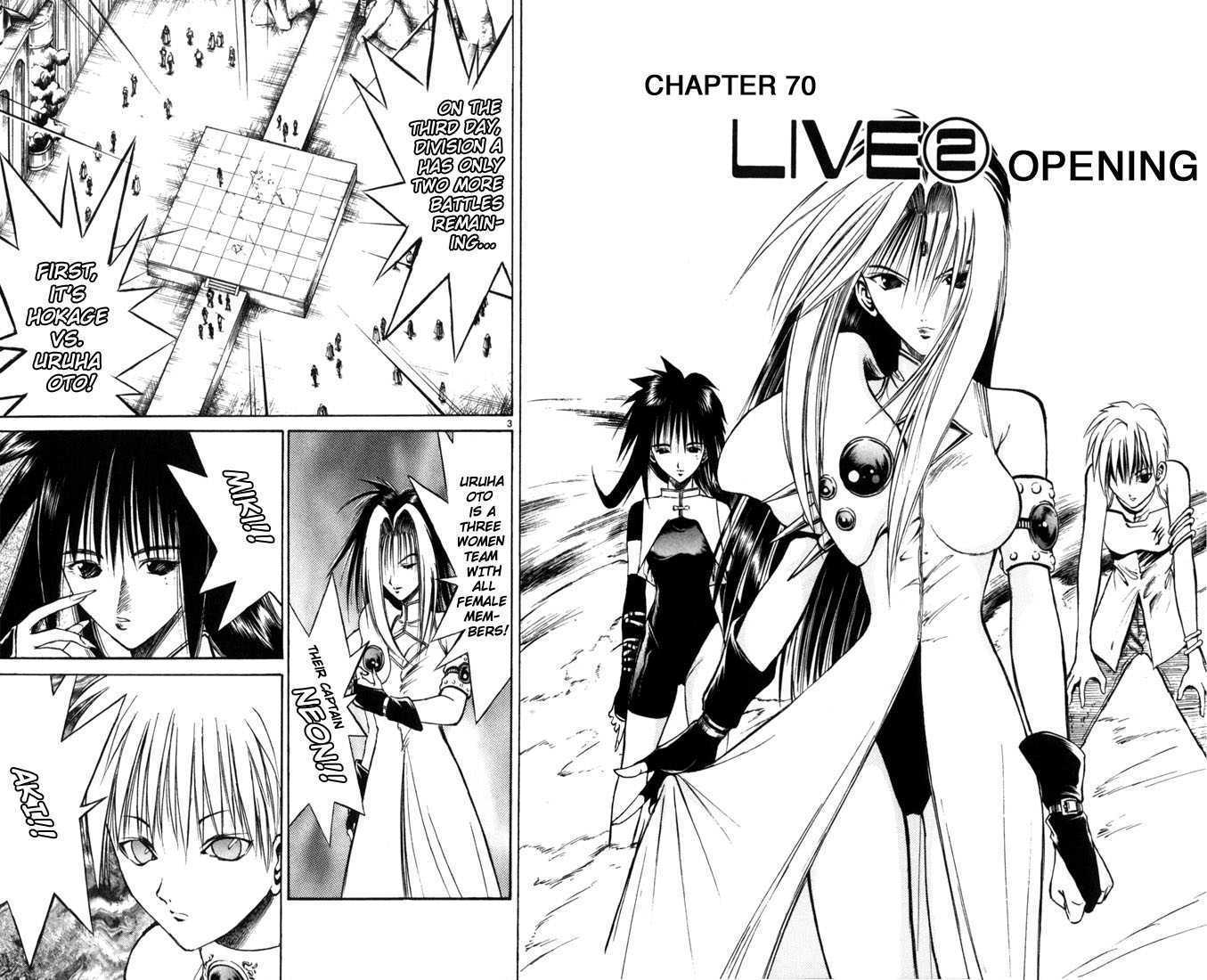 Flame of Recca 70 Page 2