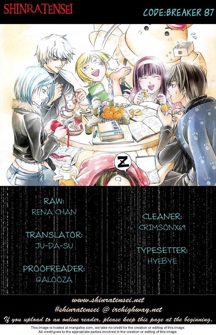Code:Breaker 87 Page 1