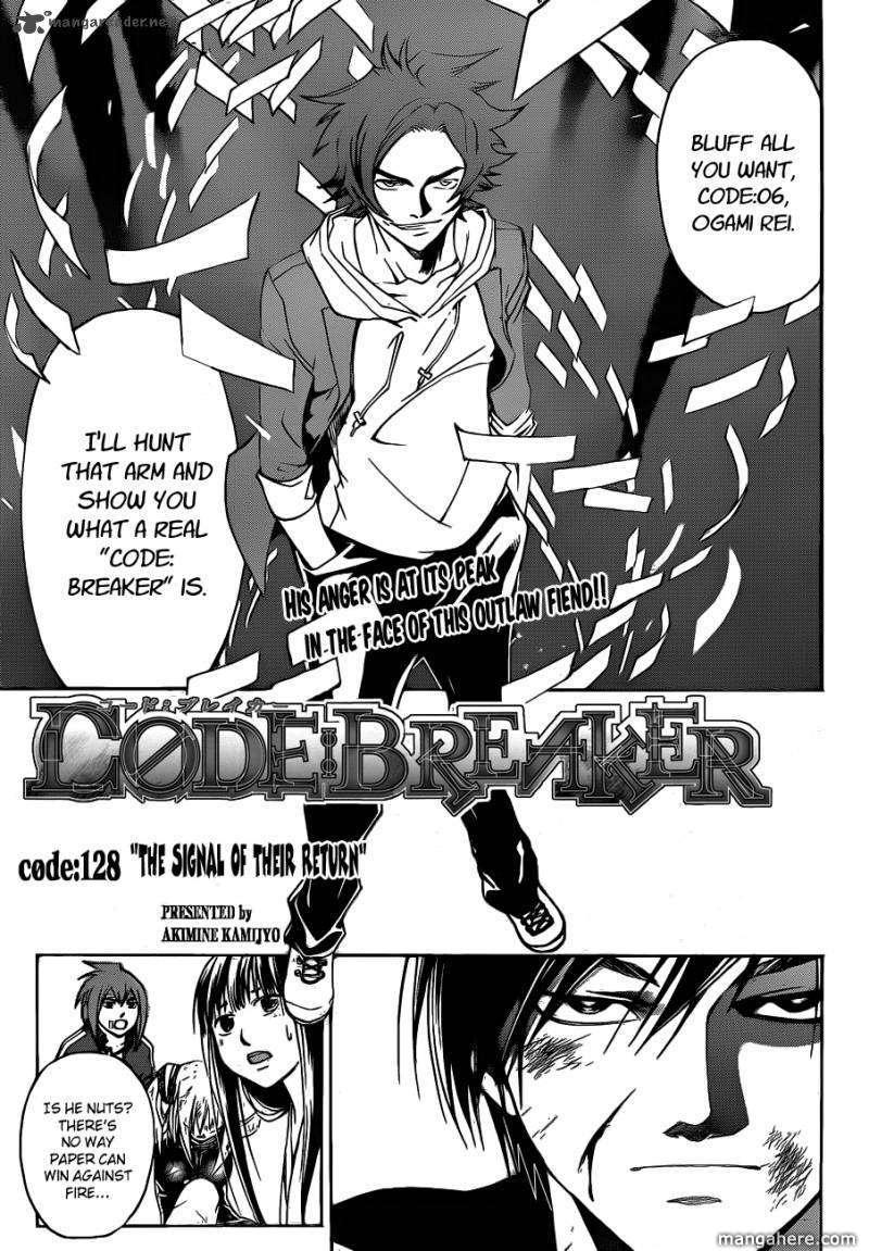 Code:Breaker 128 Page 1