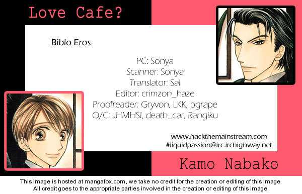Love Cafe? 2 Page 1