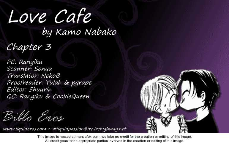 Love Cafe? 3 Page 1