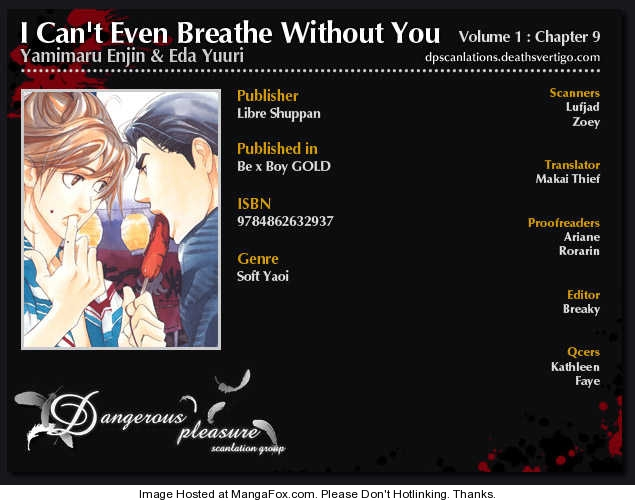 I Can't Even Breathe Without You 9 Page 2