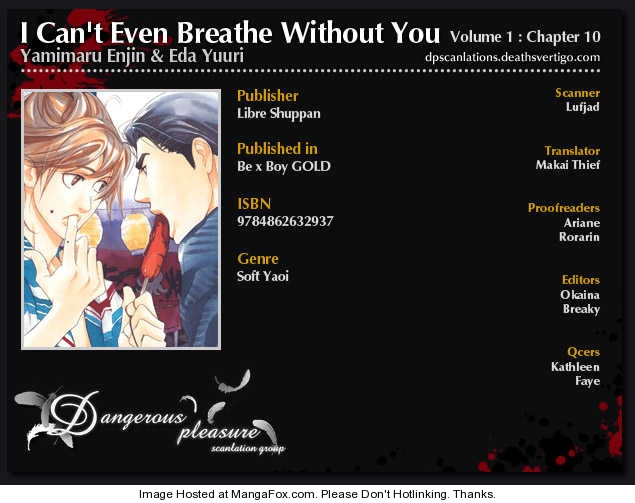 I Can't Even Breathe Without You 10 Page 2