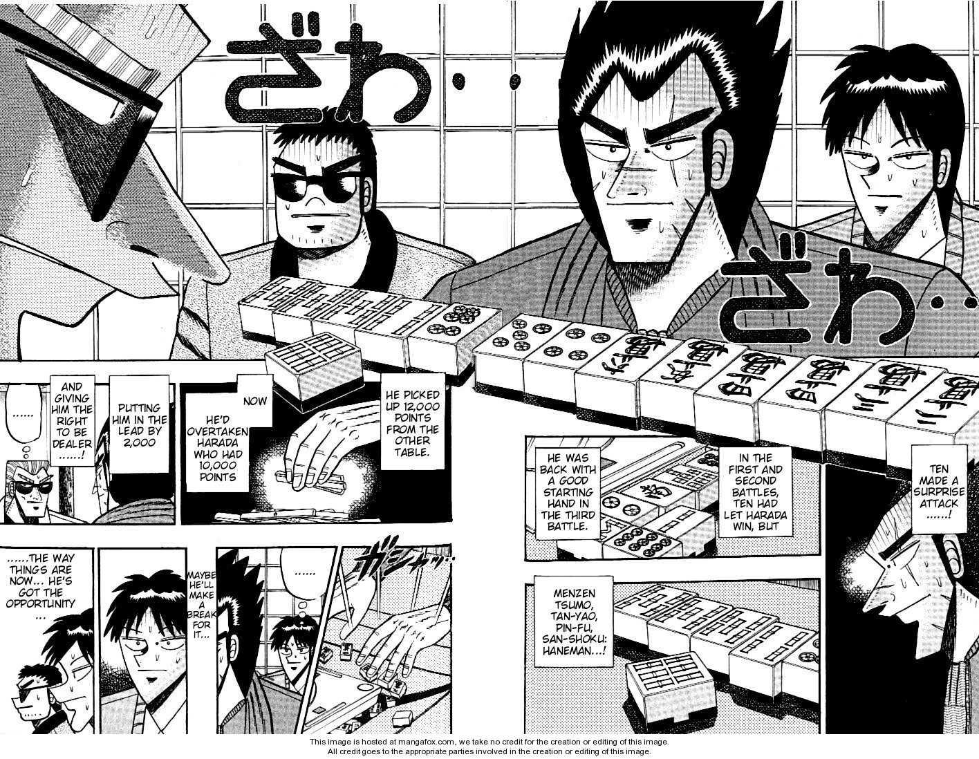 Ten - Tenna Toori no Kaidanji 107 Page 2
