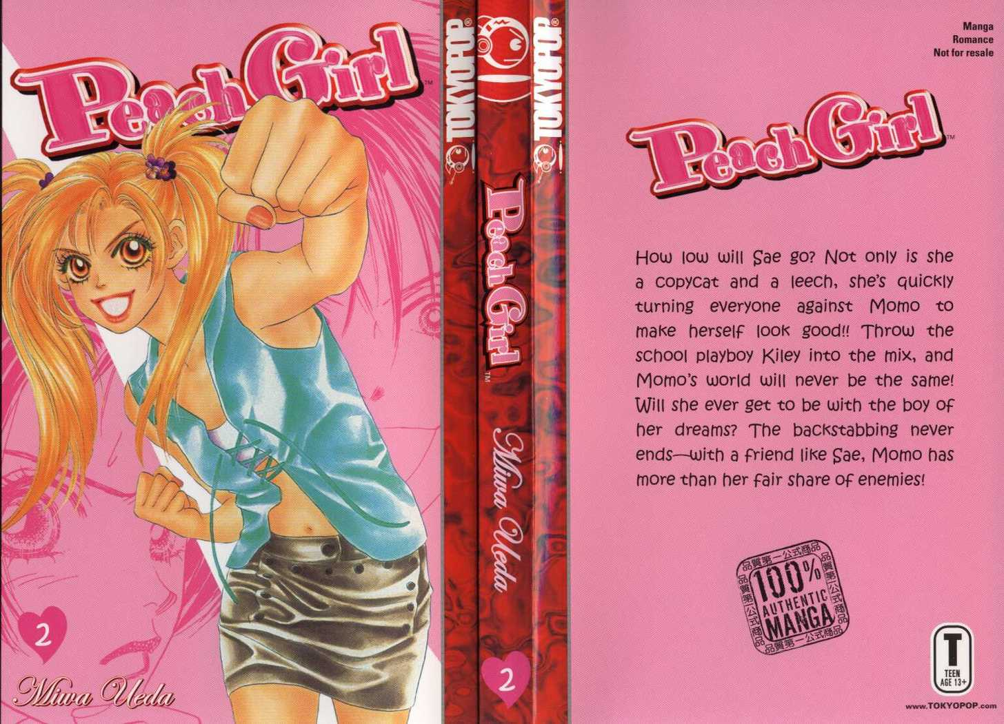 Peach Girl 2 Page 1