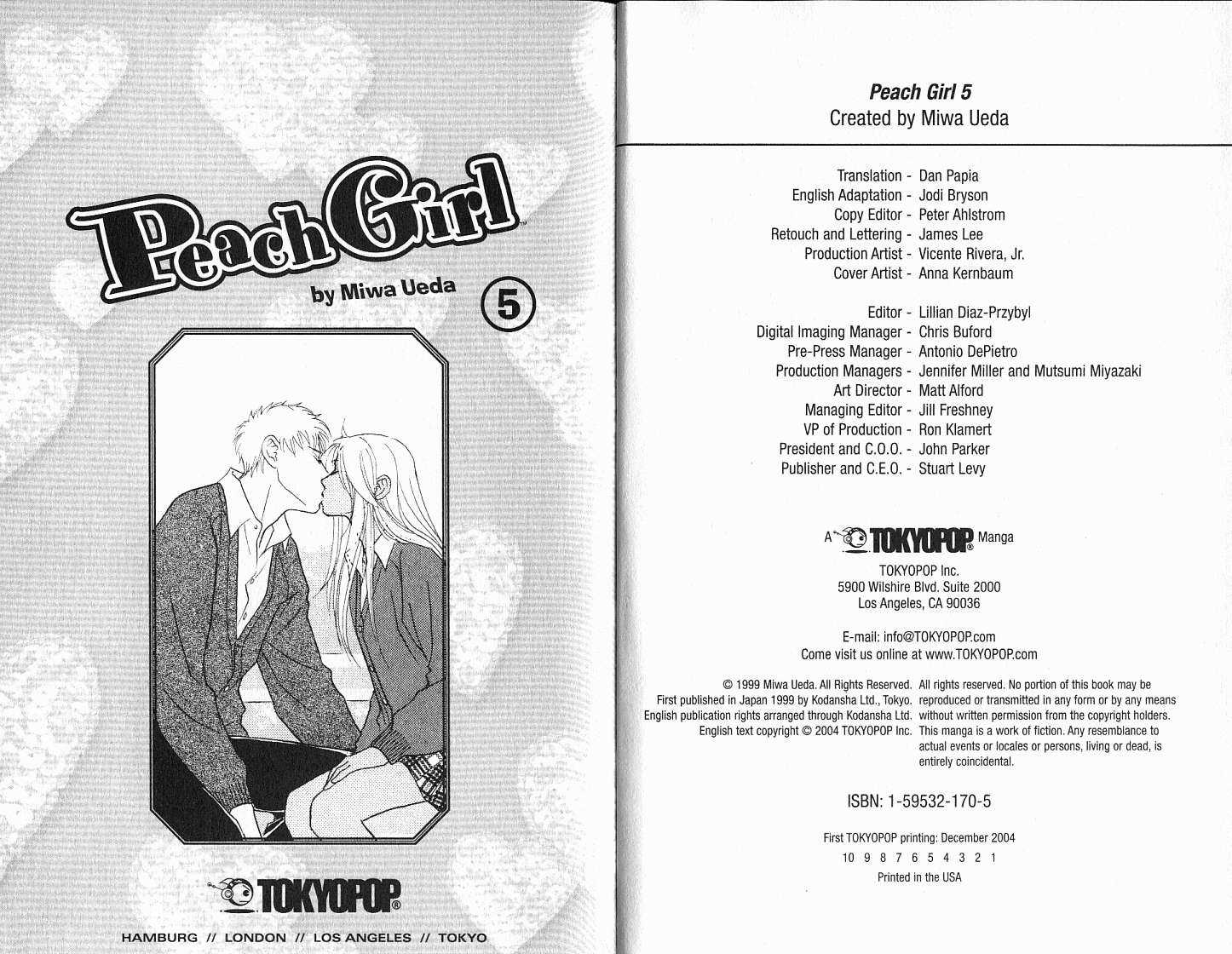 Peach Girl 5 Page 3
