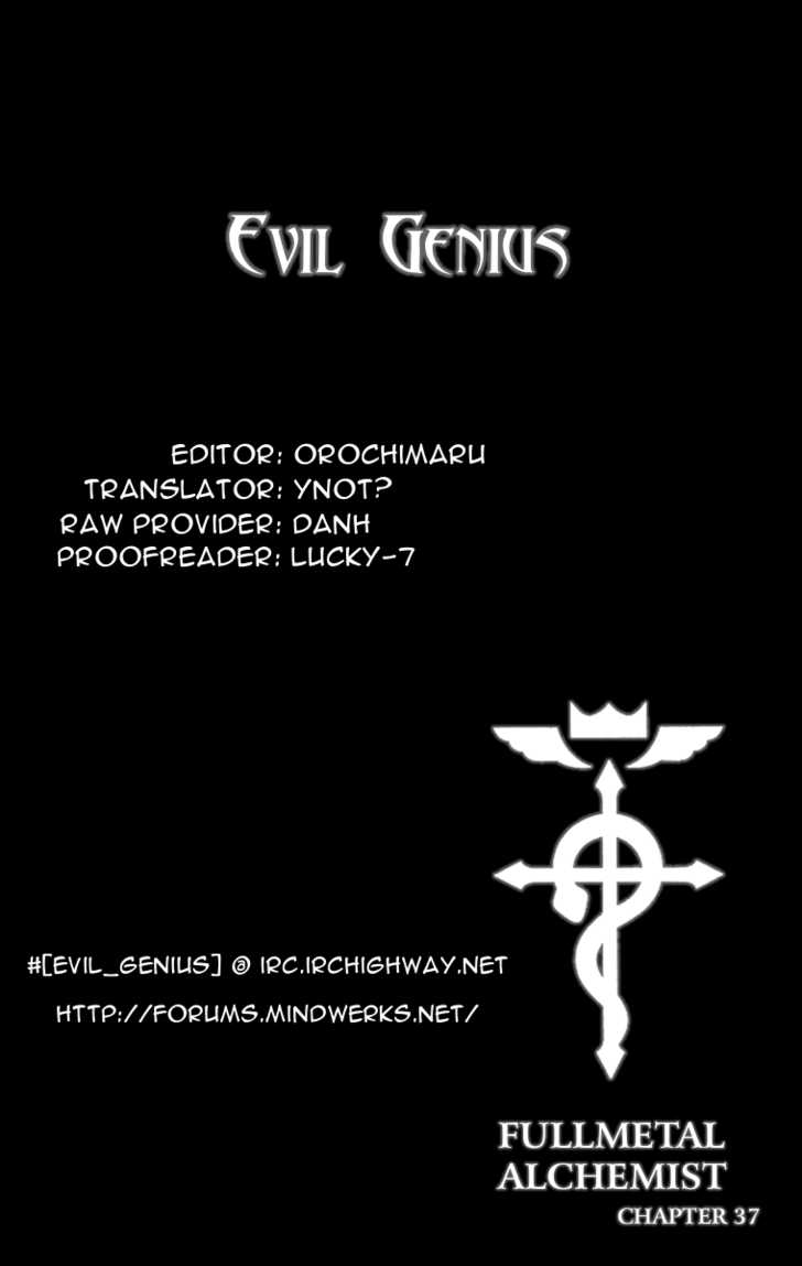 Full Metal Alchemist 37 Page 1