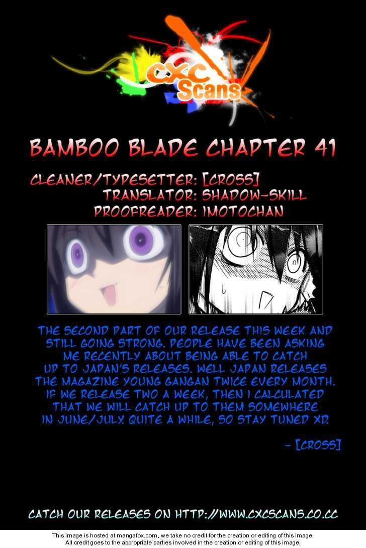Bamboo Blade 41 Page 1