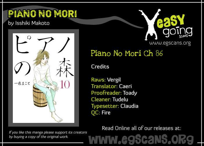 Piano no Mori 86 Page 1