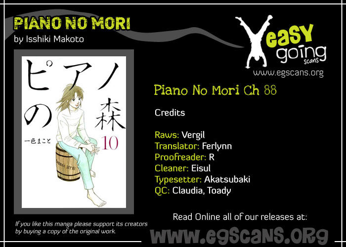 Piano no Mori 88 Page 1