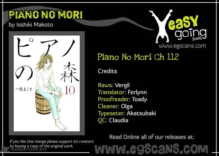Piano no Mori 112 Page 1