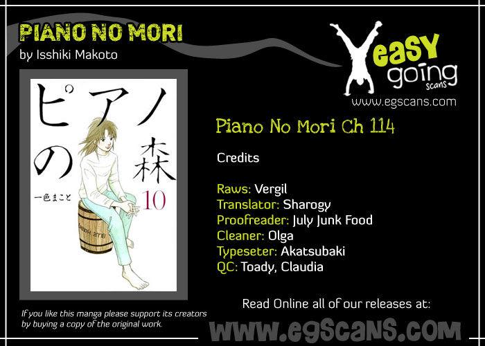 Piano no Mori 114 Page 1
