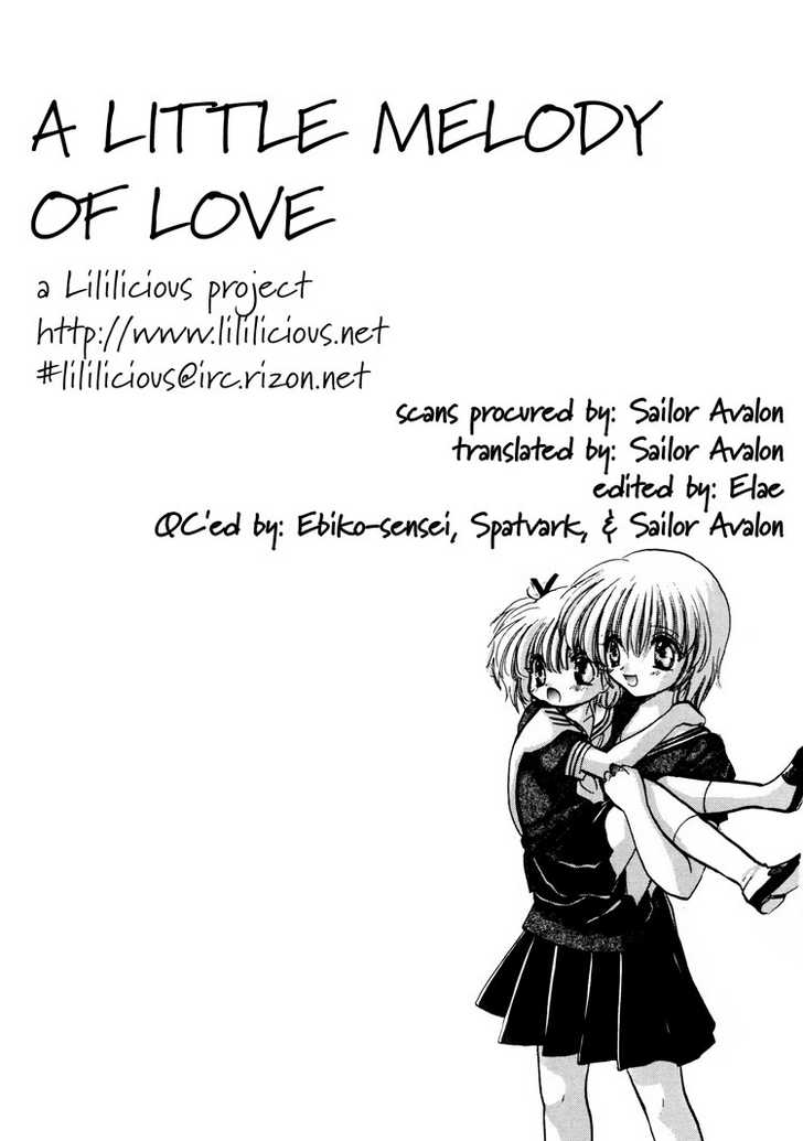 A Little Melody of Love 0 Page 1