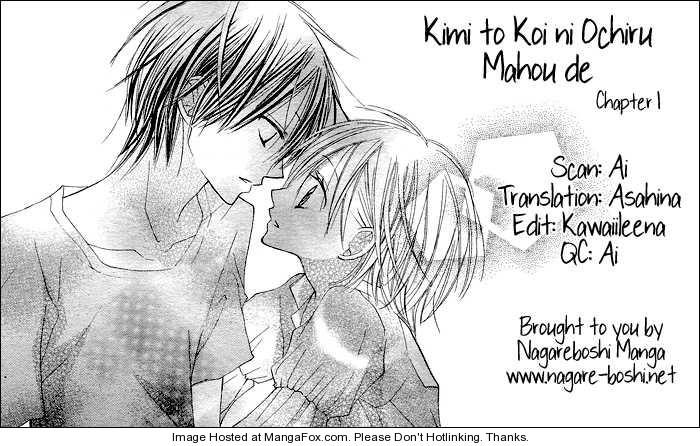 Kimi to Koi ni Ochiru Mahou de 1 Page 1