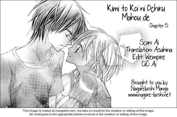 Kimi to Koi ni Ochiru Mahou de 5 Page 1