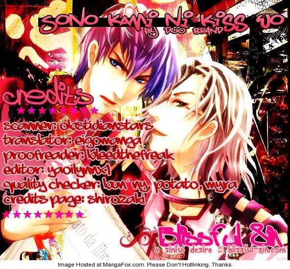 Sono Kami ni Kiss wo 5 Page 2