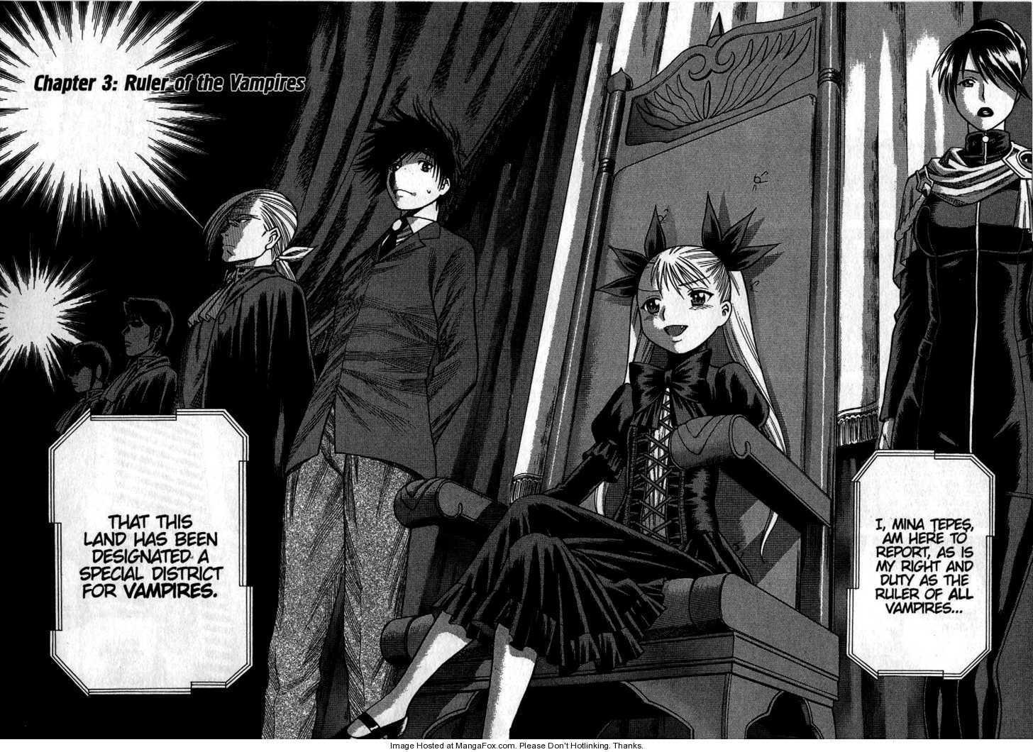 Dance in the Vampire Bund 3 Page 1