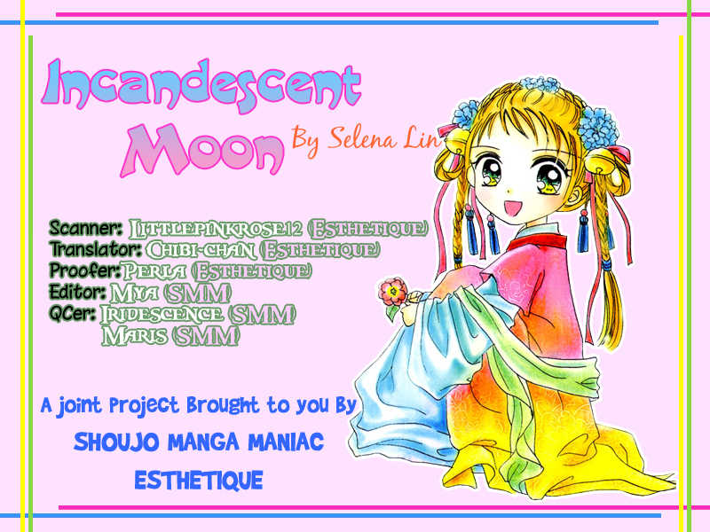 Incandescent Moon 1 Page 1