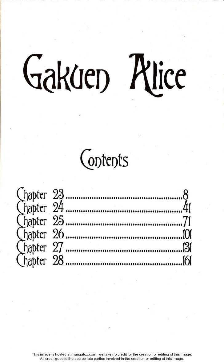 Gakuen Alice 23 Page 3