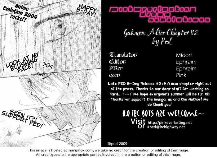 Gakuen Alice 112 Page 1