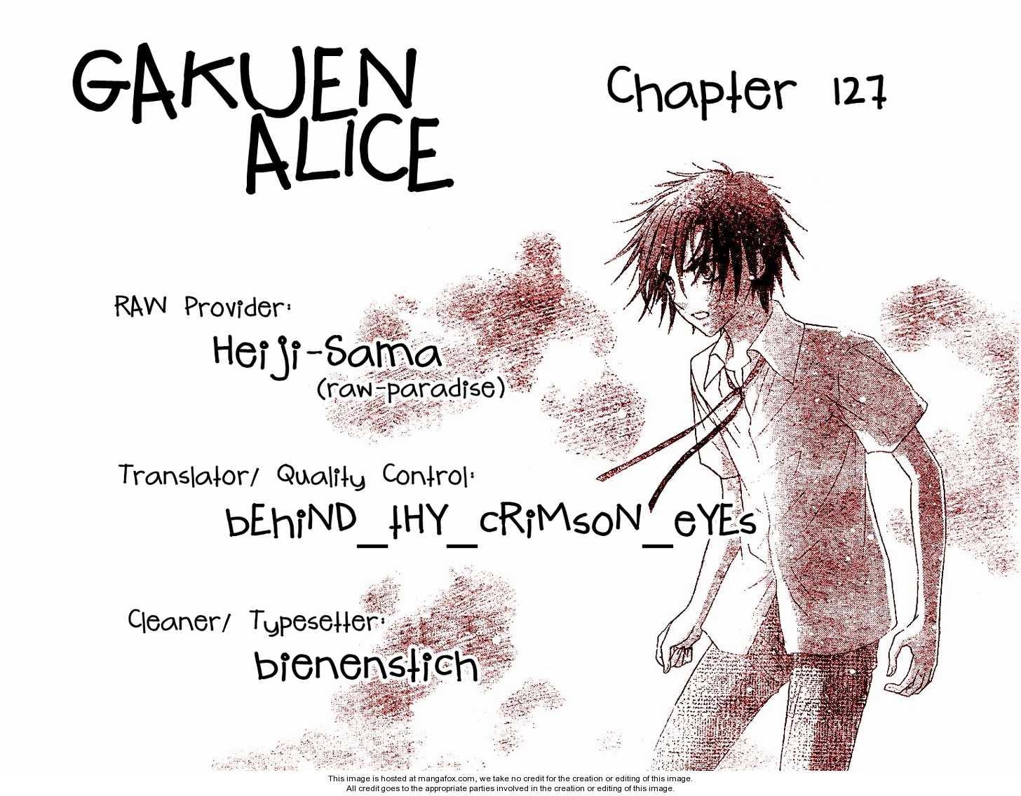 Gakuen Alice 127 Page 1