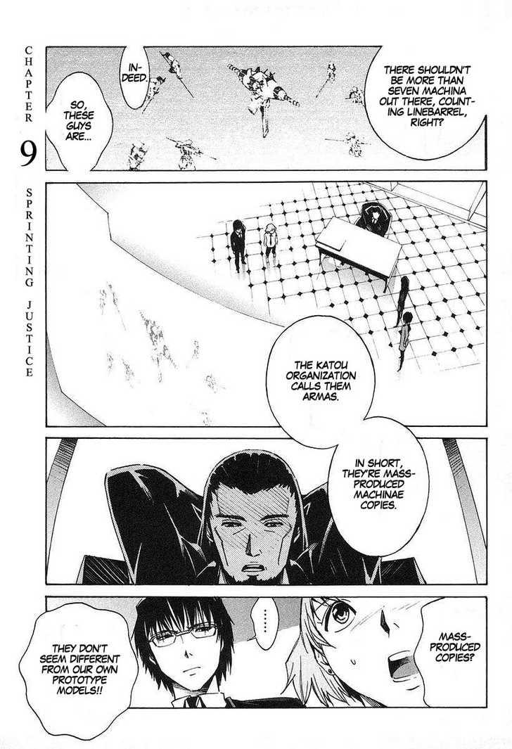 Kurogane no Linebarrel 9 Page 1