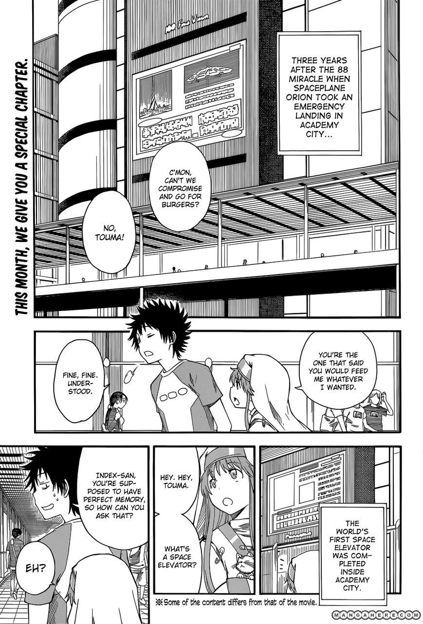 To Aru Kagaku no Rail gun 56.5 Page 1