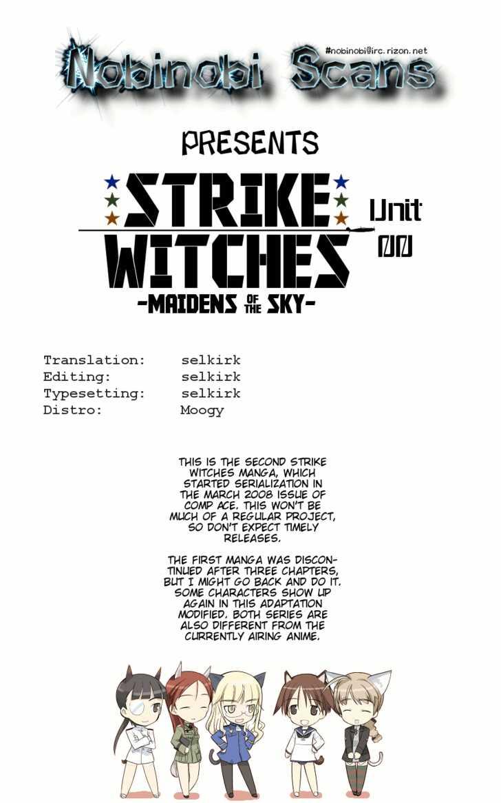 Strike Witches: Tenkou no Otometachi 0 Page 1
