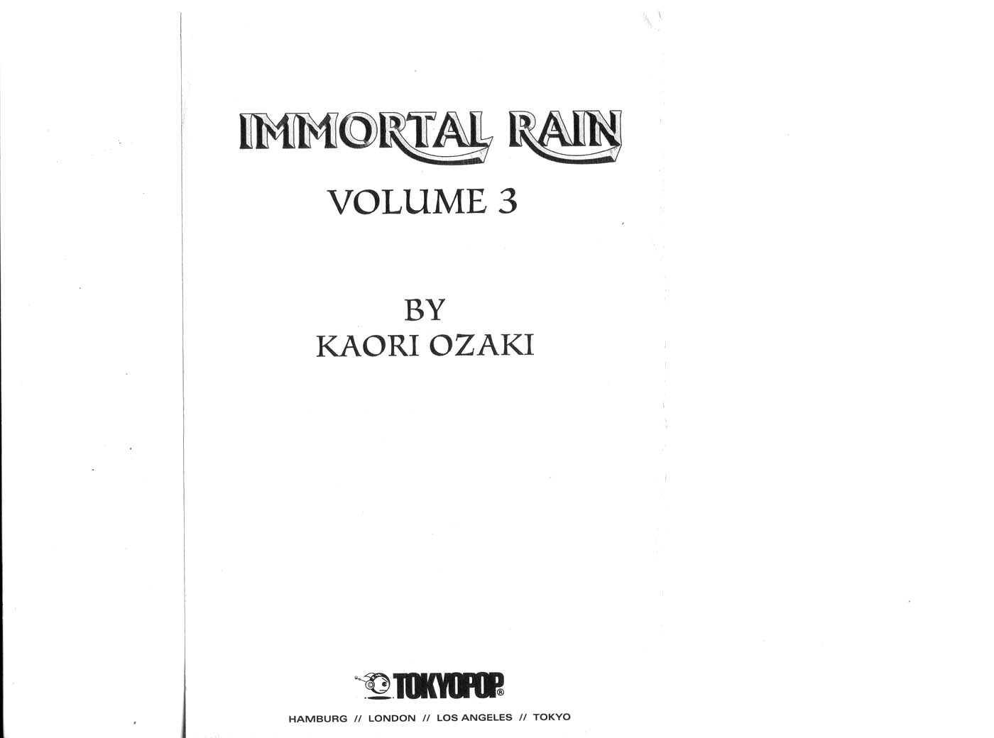 Immortal Rain 11 Page 2