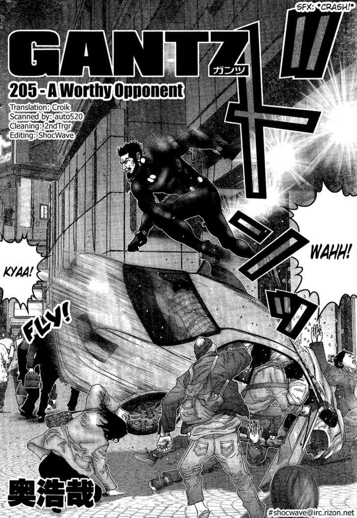 Gantz 205 Page 2