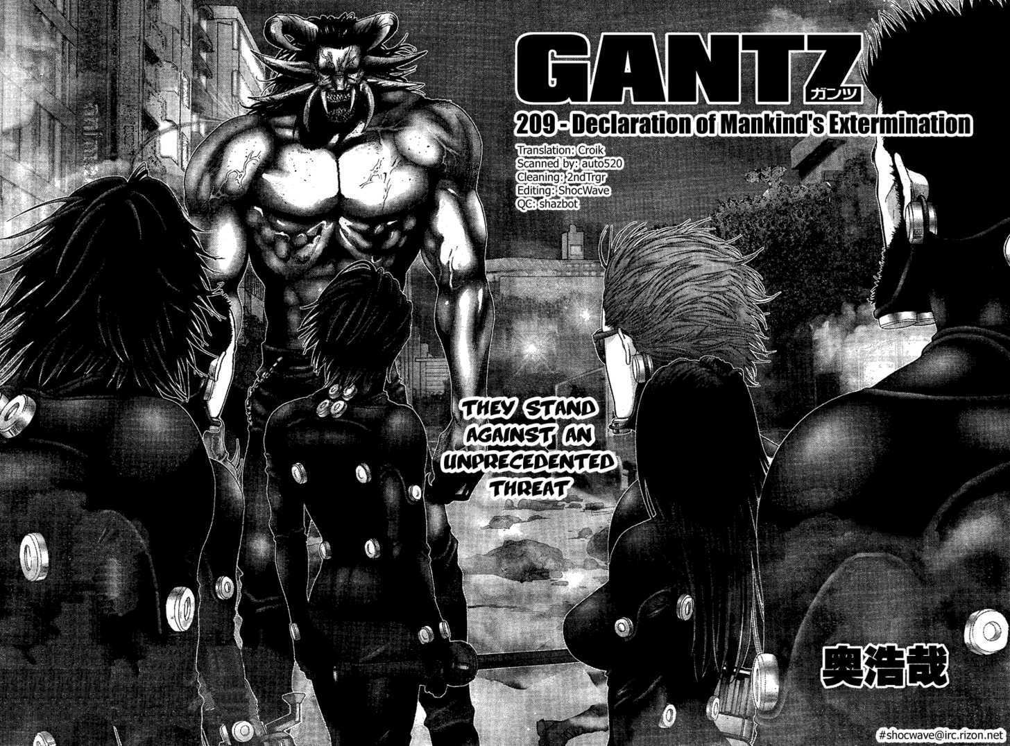Gantz 209 Page 2